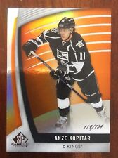 UPPER DECK SP GAME USED ANZE KOPITAR NUMBERED 119/134 LOS ANGELES