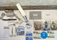 Nintendo Wii GameCube Compatible Wii Sports & Resort Bundle Call Of Duty 5 Games