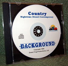 "56005 MODEL RAILROAD SOUND EFFECTS AUDIO CD ""COUNTRY NIGHT MODERN DIESEL"""