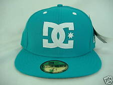 New ERA Mens DC Shoes Felt UP 7 3/4 Fitted Blue Hat 5950 Fifty 61.5 cm $34