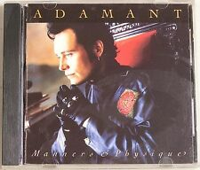"""Adam Ant """"Manners & Physique"""" CD 1989 MCA New Wave Glam Rock"""