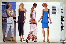 Butterick Top Skirt Pants Pattern 12-14-16 #3138 Uncut