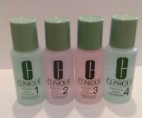 LOT OF 2 x CLINIQUE CLARIFYING LOTION 1 / 2 / 3 / 4  30ML EACH ,CHOOSE YOURS