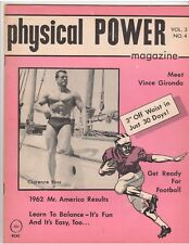 physical POWER bodybuilding magazine/Clancy Ross/Vince Gironda 7-62 Vol 3 #4