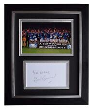 David Unsworth Signed 10x8 Framed Photo Autograph Display Everton Football COA