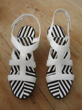 Lemon Jelly wedge sandals size 5 / 38 worn once no box