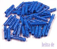 LEGO Technik - 50 x Technik - Pin lang blau / Blue Pin Long / 6558 NEUWARE (L5)
