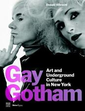 GAY GOTHAM - ALBRECHT, DONALD/ VIDER, STEPHEN (CON) - NEW HARDCOVER BOOK