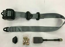 *SHOP CLOSED* GREY Universal 3 Point Inertia Seat Belt with wire buckle