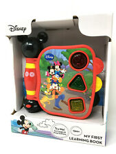 Disney Mickey Mouse Clubhouse My First Learning Book Sound & Light Toy Ages 1yr+