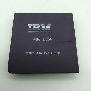 IBM DX4 Cyrix 486 DX4-100 MHz CPU Processor - 486 4V3100GIC IBM26 1993 Rare
