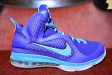 Nike Air Max LEBRON IX 9 SUMMIT LAKE HORNETS PURPLE TURQUOISE BLUE GREEN 12