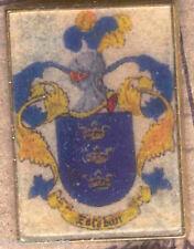 Héraldique BROCHES métallique du nom de famille : ESTEBAN