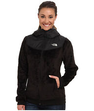 New Women's Ladies North Face Fleece Jacket Coat Oso Hoodie Black S Size Small