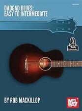 DADGAD Blues Guitar Easy To Intermediate Rob Mackillop Tab Book NEW!