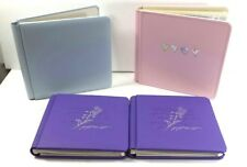 4 Creative Memories Albums 2 Triumph &  2 8x8 One pink with Pages Extra Supplies