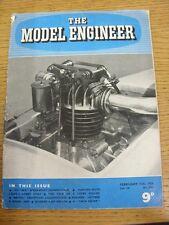 11/02/1954 l'ingegnere modello Magazine: VOL 110 N. 2751 (Piegati)