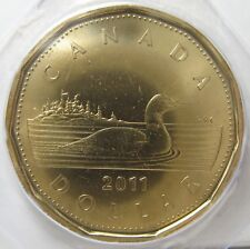 RCM - 2011 - $1 / Loonie - Loon - BU - Sealed in original hard plastic