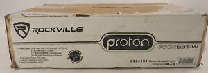 ROCKVILLE PROTON RXM8BT-W FULL RANGE CLASS D HIGH POWER BLUETOOTH