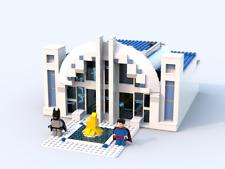 Lego custom modular building instruction : DC Super Heroes Hall of Justice
