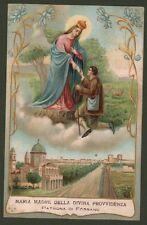 FOSSANO, Cuneo. Cartolina d'epoca a colori viaggiata nel 1921.