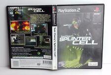 TOM CLANCY'S SPLINTER CELL - PS2 - PlayStation 2 - PAL - Italiano - Usato