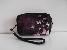 Waterproof Digital Camera Case Pouch Handle Strap Carry Cover Butterfly Girls