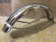 1968 - 1971 Honda CB350 CB 350 K0 K2 K3 New Reproduction Chrome Front Fender.