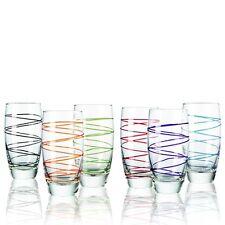 Montana Longdrinkbecher :swirl 6/Set farbig sortiert, Becher Saftbecher Gläser