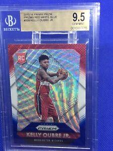 Kelly Oubre Jr 2015 Panini Prizm RC RWB 309 BGS 9.5 Washington Wizards Rookie