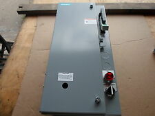 Siemens 17FSH92BF13 Fusible Combination Magnetic Starter Class 17/18 3 Phase