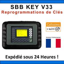 SBB KEY PROGRAMMER V33 - Outil de programmation de clés - TACHO PRO - VAG COM ©