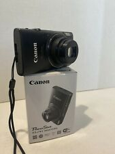 Canon PowerShot ELPH 360HS Digital Camera 20.2mp Extras Tripod, Case, 64gb