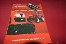 Foton FT Series Tractor Dealers Brochure CDIL