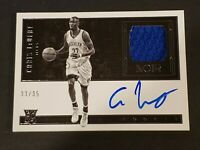 2016 Panini Noir Patch /35 Auto Caris LeVert RC Autograph Rookie Brooklyn Nets