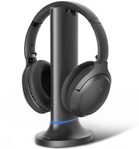 Avantree OPERA Bluetooth Transmitter and Headphones charging dock aptX-LL BT5