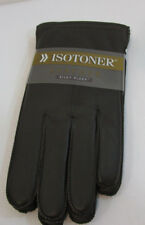 ISOTONER genuine LEATHER GLOVES SZ LG NEW WITH TAG