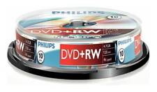 Philips DVD+RW 4.7GB 4x 120Min Re-Writable Blank Discs 10 Pack Spindle x 5