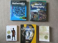 Grade 7 Textbooks (Common Core Math, Lanuage Arts, World Geography, Science)