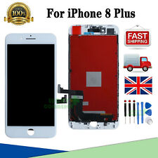For iPhone 8 Plus White LCD Screen Replacement Display Touch Digitizer Assembly