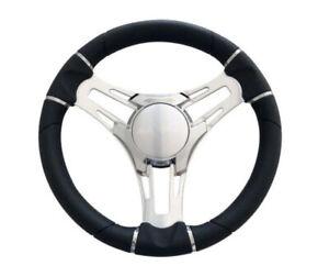 Gussi Italia - Verona Three spoke Polished Boat Steering Wheel