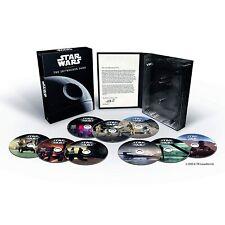 PACK STAR WARS - THE SKYWALKER SAGA - DVD - 9 PELICULAS - NUEVO - ESPAÑOL