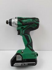 "HITACHI WH18DGL 18V LITHIUM CORDLESS 1/4"" IMPACT DRIVER w/ 2.5Ah 18V BATTERY"