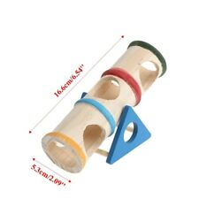 Hamster Seesaw Tube Tunnel House Pet Toy Puppy Training Playing Colorful CY2