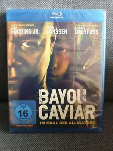 BAYOU CAVIAR - Im Maul des Alligators BLU-RAY  *NEU und OVP* Cuba Gooding Jr.