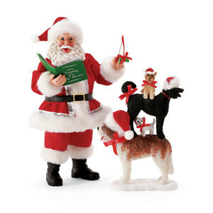 Dept 56 Possible Dreams Santa Caroling Dogs Fur-La-La Christmas New 2021 6008598