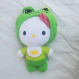 McDonald's Hello Kitty Happy Meal The Frog Prince Plush Toy green creata 2012