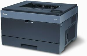 NEW Dell 2330dn USB Mono Laser Printer Network Duplex + Toner