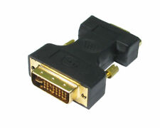 DVI TO VGA Adaptor DVI-A / SVGA HD15 Analog Monitor Cable Lead Converter GOLD