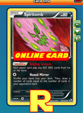 Spiritomb Playset (Ace SP) for Pokemon TCG Online ( digital ptcgo in Game Card)